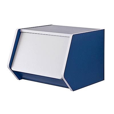 TZUMii 艾莉絲掀門櫃-藍色 40*38.2*30 cm