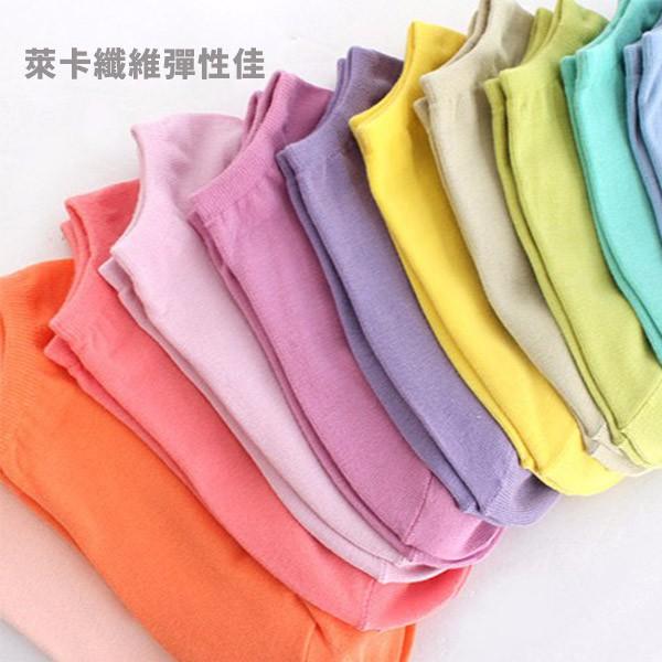 【泡泡生活】台製糖果純色萊卡船型襪 隱形襪 2入 (五色可選)