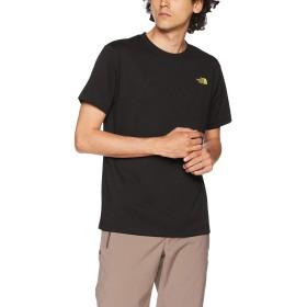 [ザ・ノース・フェイス] Tシャツ ショートスリーブスクエアロゴティー メンズ ブラック×TNFイエロー 日本 M (日本サイズM相当)