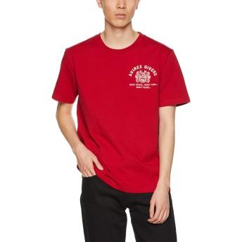 [アヴィレックス] Tシャツ EMB TEE DIVING&SALVAGE 6193343 メンズ 34RED 日本 L (日本サイズL相当)