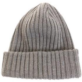 【Super Sports XEBIO & mall店:帽子】トラベルニットキャップ WE28FC47グレー