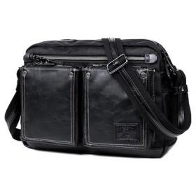 UIYI 佑一良品 メンズ ショルダーバック ビジネスバッグ 150158901