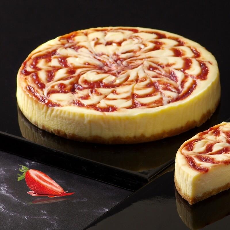 ls手作甜點草莓重乳酪蛋糕 6吋