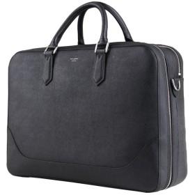 カバンのセレクション ペッレモルビダ PELLE MORBIDA メンズバッグ ビジネスバッグ 本革 レザー 2WAY ブリーフケース キャピターノ CAPITANO CA014 ユニセックス ブラック フリー 【Bag & Luggage SELECTION】