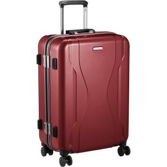 [ワールドトラベラー] スーツケース 日本製 コヴァーラム ベアリング入り双輪キャスター 58L 58 cm 4.6kg レッド