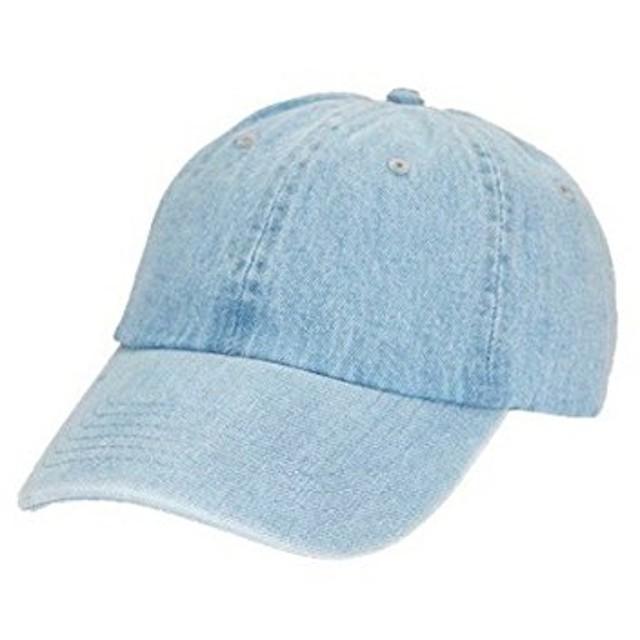 C.E.L.STORE/NEWHATTAN(ニューハッタン) デニム キャップ DENIM BB CAP MU18S00500 FREE ライトインディゴブルー