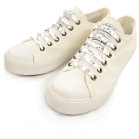 [SHULEPAS] 結ばない靴紐 靴ひも 靴 シューズ 濡れない 汚れない ほどけない シュレパス シューアクセサリー スニーカー シリコン ランニング スポーツ (大人用) (ホワイトマーブル)