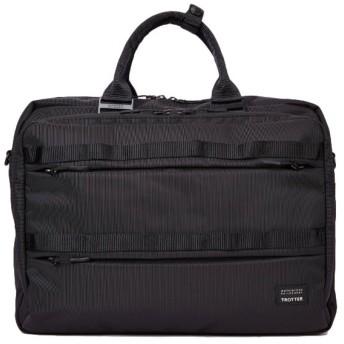カバンのセレクション マッキントッシュフィロソフィー ビジネスバッグ キャリーオン B4 55744 トロッターバッグ3 メンズ ユニセックス ブラック フリー 【Bag & Luggage SELECTION】