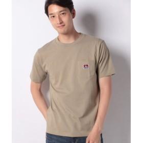 (MARUKAWA/マルカワ)【BEN DAVIS】ベンデイビス 無地 ポケット 半袖Tシャツ/メンズ ベージュ
