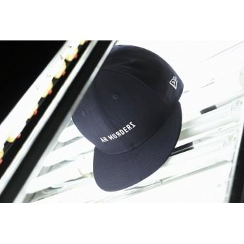 【ニューエラ公式】 9FIFTY AH MURDERZ for Red Spider ロゴ ネイビー × ホワイト メンズ レディース 57.7 - 61.5cm キャップ 帽子 12043654 コラボ NEW ERA