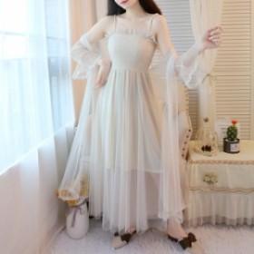 パーティードレス 結婚式 二次会 ワンピース 結婚式 お呼ばれ ドレス 20代 30代 40代 結婚式 お呼ばれドレス ロング ストラップ ドレス