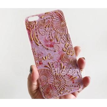 多機種対応 スマホケース iPhoneケース アイフォン iPhoneX/XSMAX/XR/7/8/ Xperia Galaxy ハイナの手描き