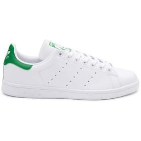 [アディダス] 靴・シューズ メンズスニーカー Mens Stan Smith Athletic Shoe ホワイト/グリーン US 11 (29cm) [並行輸入品]