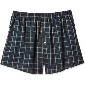 [ビー・ブイ・ディ] 大きいサイズ POCHA BODY ピンチェックトランクス メンズ グリーン 日本 4L (日本サイズ4L相当)
