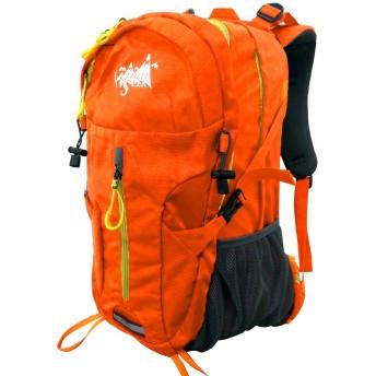 リュック 30L 防水 アウトドア バックパック リュックサック 登山リュック (オレンジ)