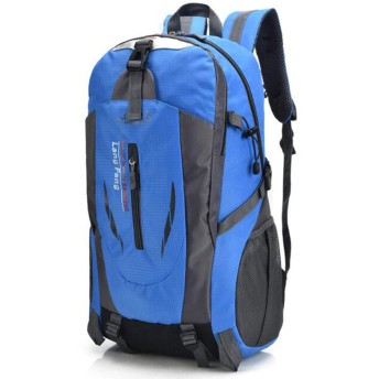 HeFuo 登山バッグ 多機能バッグ 大容量40Lキャンプ遠足旅行防水屋外運動軽量双肩バッグと男女兼用