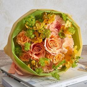 【日比谷花壇】花束「8月の旬の花 ムートン」