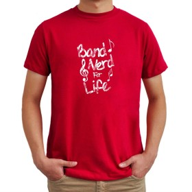 Band Nerd for Life Tシャツ