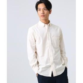 ドレステリア 細コーデュロイボタンダウンシャツ メンズ オフホワイト(003) 92(L) 【DRESSTERIOR】