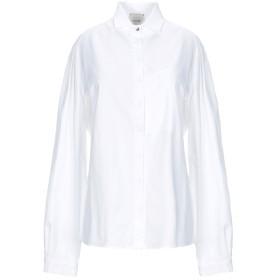 《期間限定セール開催中!》ALYSI レディース シャツ ホワイト L コットン 100%