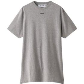 THIRD MAGAZINE サード マガジン ロゴTシャツ ライトグレー