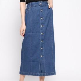 スタイルブロック STYLEBLOCK デニムタイトスカート (ブルー)