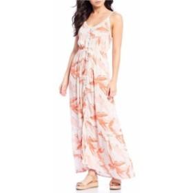 ロキシー レディース ワンピース トップス Spaghetti Strap Hot Summer Lands Dress Marshmallow