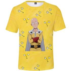 記念シャツ Tシャツ One Punch ManTシャツ ワンパンマンシャツ インナーシャツ おしゃれティーシャツ メンズファッション uネック 半袖 夏服 ギフト 誕生日プレゼント (Type 8, M)