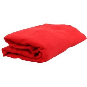 Prettyia ベビー ファブリック ブランケット おくるみ タオル 寝相アート 洗礼 出産祝い 写真用毛布 ソフト 10色選べ - 赤
