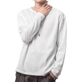 ジョーカーセレクト(JOKER SELECT) メンズ Tシャツ 半袖 七分袖 長袖 カットソー サーマル M オフホワイト(長袖)