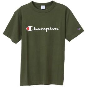 [チャンピオン] スクリプトロゴTシャツ ベーシック C3-P302 メンズ ダークグリーン 日本 XXL (日本サイズ3L相当)