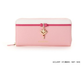 サマンサベガ 19SSさくらコラボ財布 さくらカード ピンク