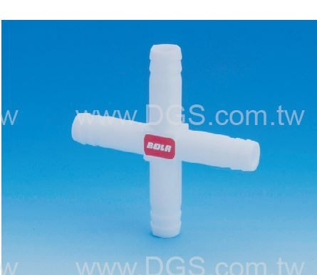 《BOHLENDER》十字型 接管 PTFE Cross 4-Way Connector , PTFE