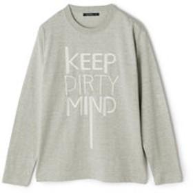 【メンズビギ:トップス】【雑誌Safari(サファリ)12月号掲載商品】UV刺繍ロングスリーブTシャツ