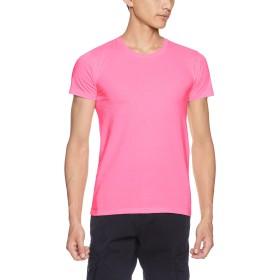 [ダルク] 半袖 5.0オンス スタンダード クルーネック Tシャツ DM030 ピンク M (日本サイズM相当)
