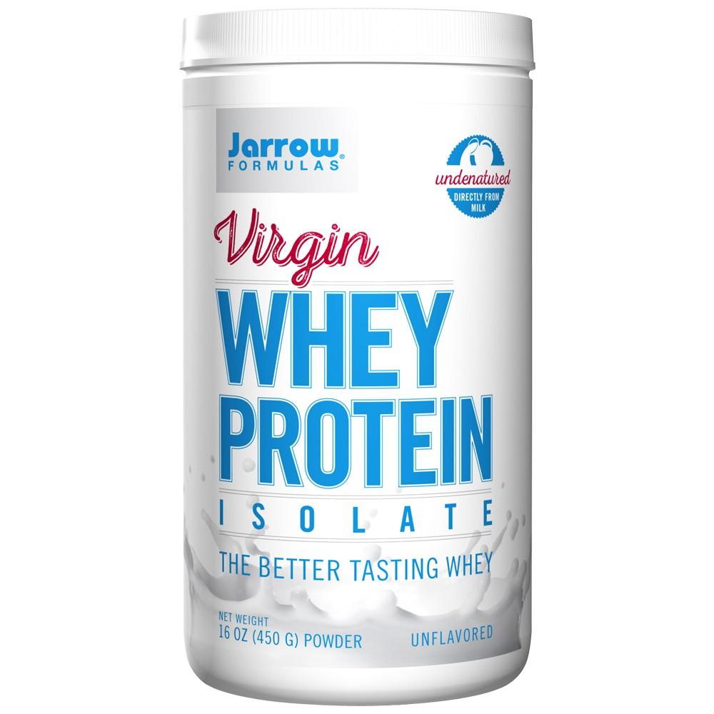 [公司貨]【Jarrow 賈羅公式】維珍頂級分離乳清蛋白粉-原味(450g)(效期至2019.07.31)