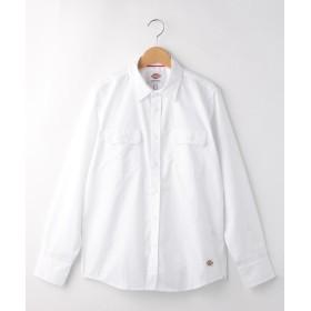 WORLD ONLINE STORE SELECT(ワールド オンラインストア セレクト) Dickies コットン(綿)混ツイルワークシャツ