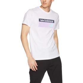 [ニューバランス] Tシャツ NBアスレチックバナーT WM(ホワイトマルチ) 日本 S (日本サイズS相当)