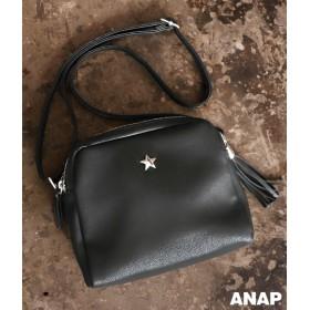 【セール開催中】ANAP(アナップ)スタープレートフリンジショルダーバッグ