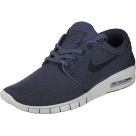 NIKE Stefan Janoski Max Mens Fashion-Sneakers 631303-402_8 - Thunder Blue/Black-Gum Med Brown