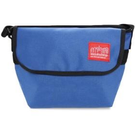マンハッタ ショルダーバッグメッセンジャーバッグ ビジネスバッグ 大容量 2way 斜めがけバッグ メンズ レディース (BLUE)