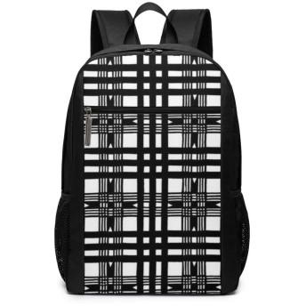 ShareBy リュック ビジネスリュック バックパック リュックサック 幾何正方形パタン 丈夫 17インチ 多機能 大容量 撥水加工 人気 学生 鞄 メンズ レディース 通勤 通学 出張 デイパック マザーパック 2019最新版