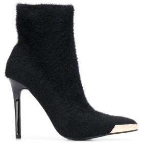 Versace Jeans Couture テクスチャード ブーツ - ブラック