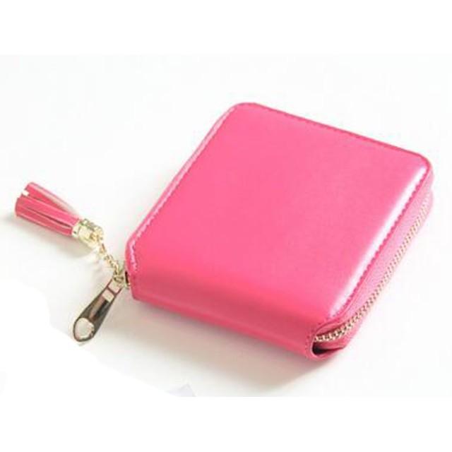 S-BBG ウォレット 財布 レディース メンズ タッセル 小さい財布 シンプル 可愛い ミニ財布 小銭入れ カード収納