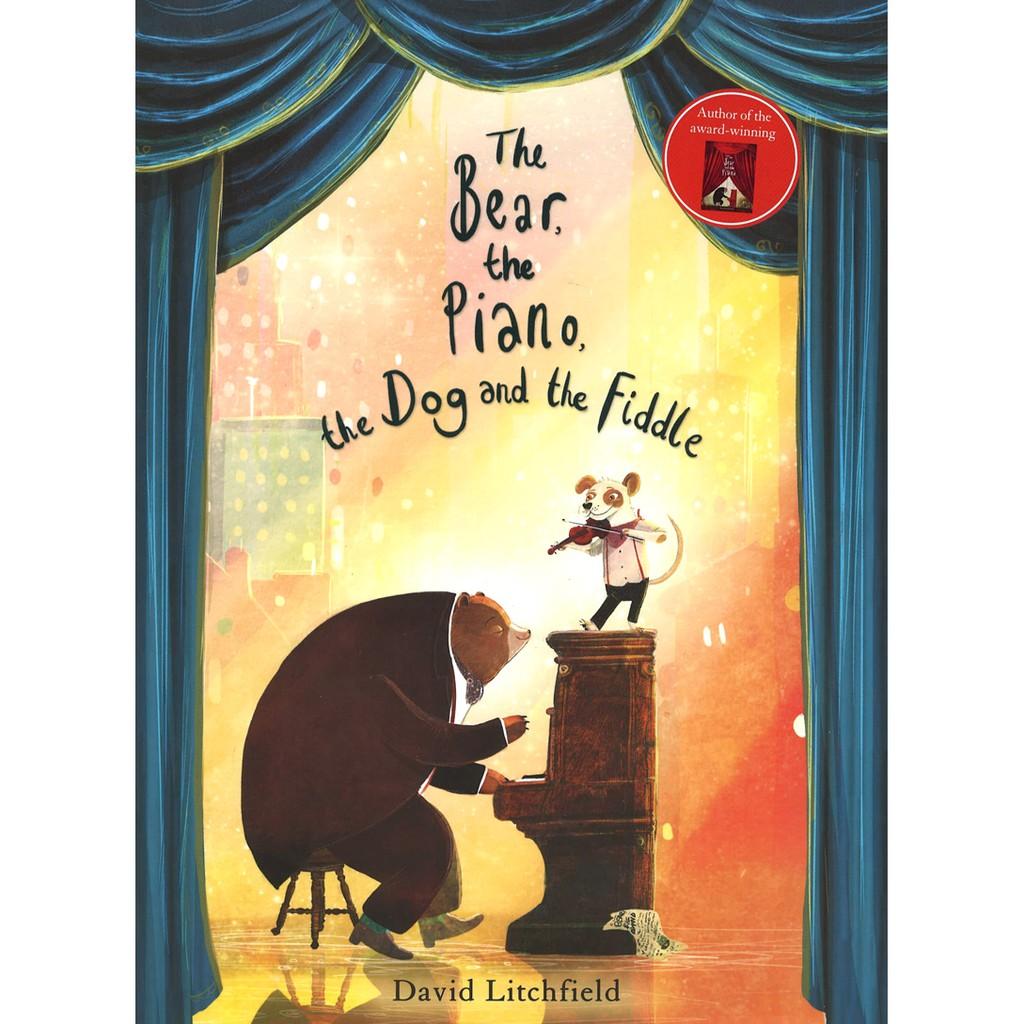【麥克書店】THE BEAR THE PIANO THE DOG AND THE FIDDLE|英文故事繪本