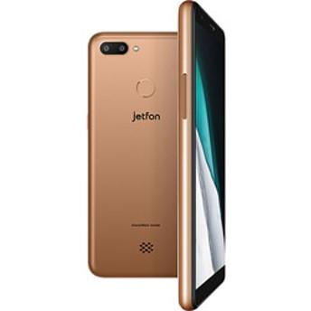 jetfon P6 ゴールド「ELTP18A04-GD」5.7型 メモリ/ストレージ:2GB/16GB nanoSIMx2 DSDV対応 クラウドSIMスマートフォン
