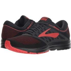 Brooks(ブルックス) メンズ 男性用 シューズ 靴 スニーカー 運動靴 Revel - Black/Red/Grey 8 D - Medium [並行輸入品]