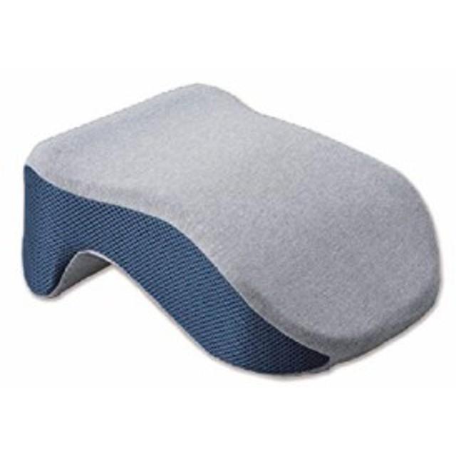 GOWELL (ゴーウェル) 旅行用品・旅行小物 杢グレー 15×12×21cm ネックピロー 昼寝 枕 としても) GW-1216-048