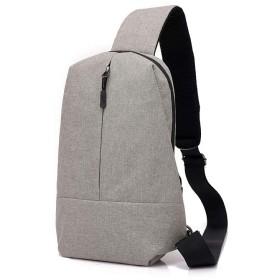 メンズ胸のバッグ多機能メッセンジャーバッグトレンド (Color : Dark gray)