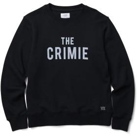 (クライミー)CRIMIE SWEAT CREW THE CRIMIE C1K1-SW10 S ブラック メンズ